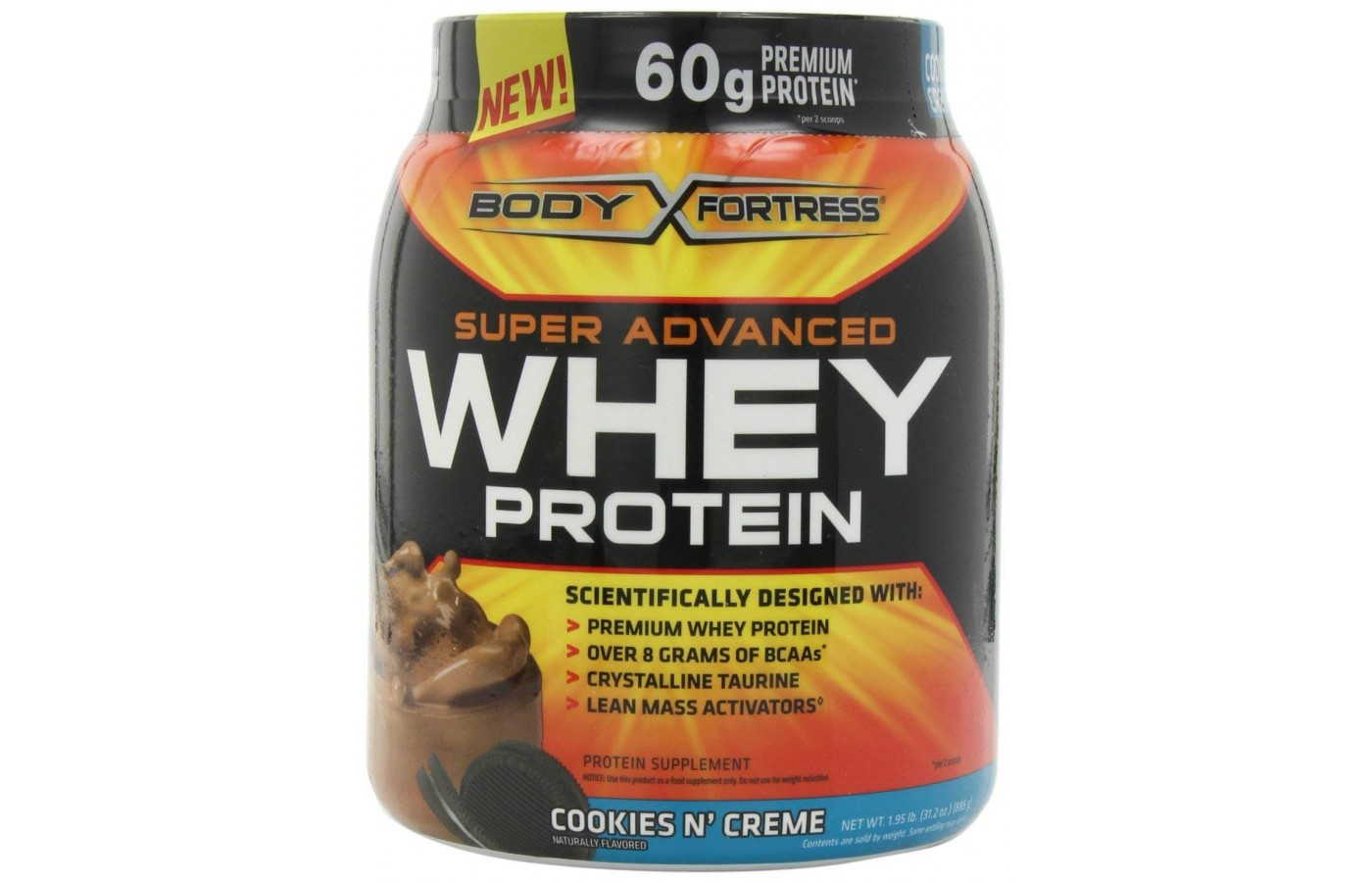 Body Fortress Whey Protein. Cookies Whey ...