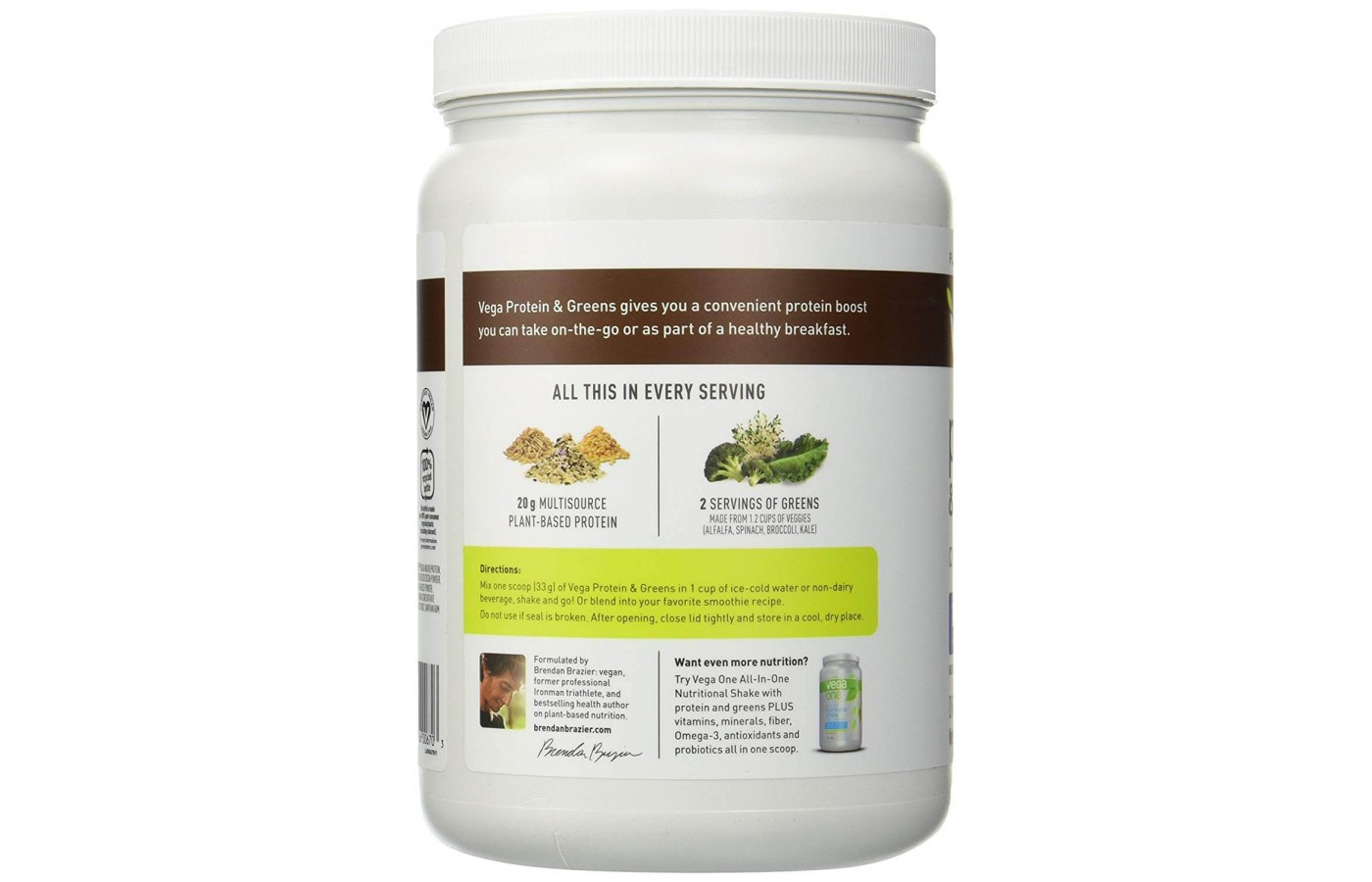 Protein plus green back