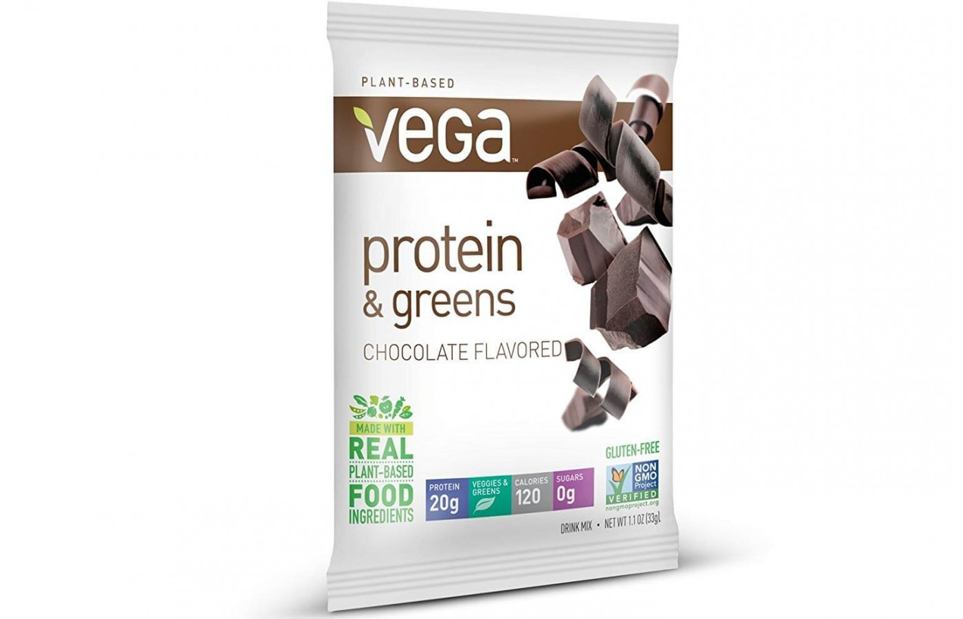 Protein plus greens packet