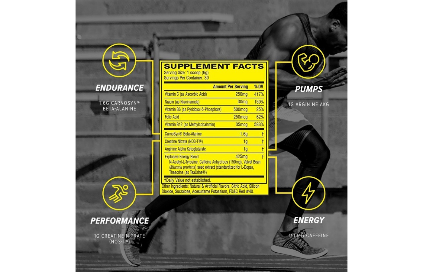 c4 supplement facts