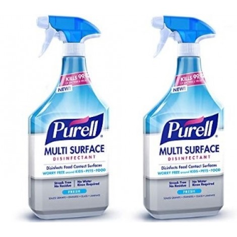 Purell Two-Pack disinfectant spray for gym equipment