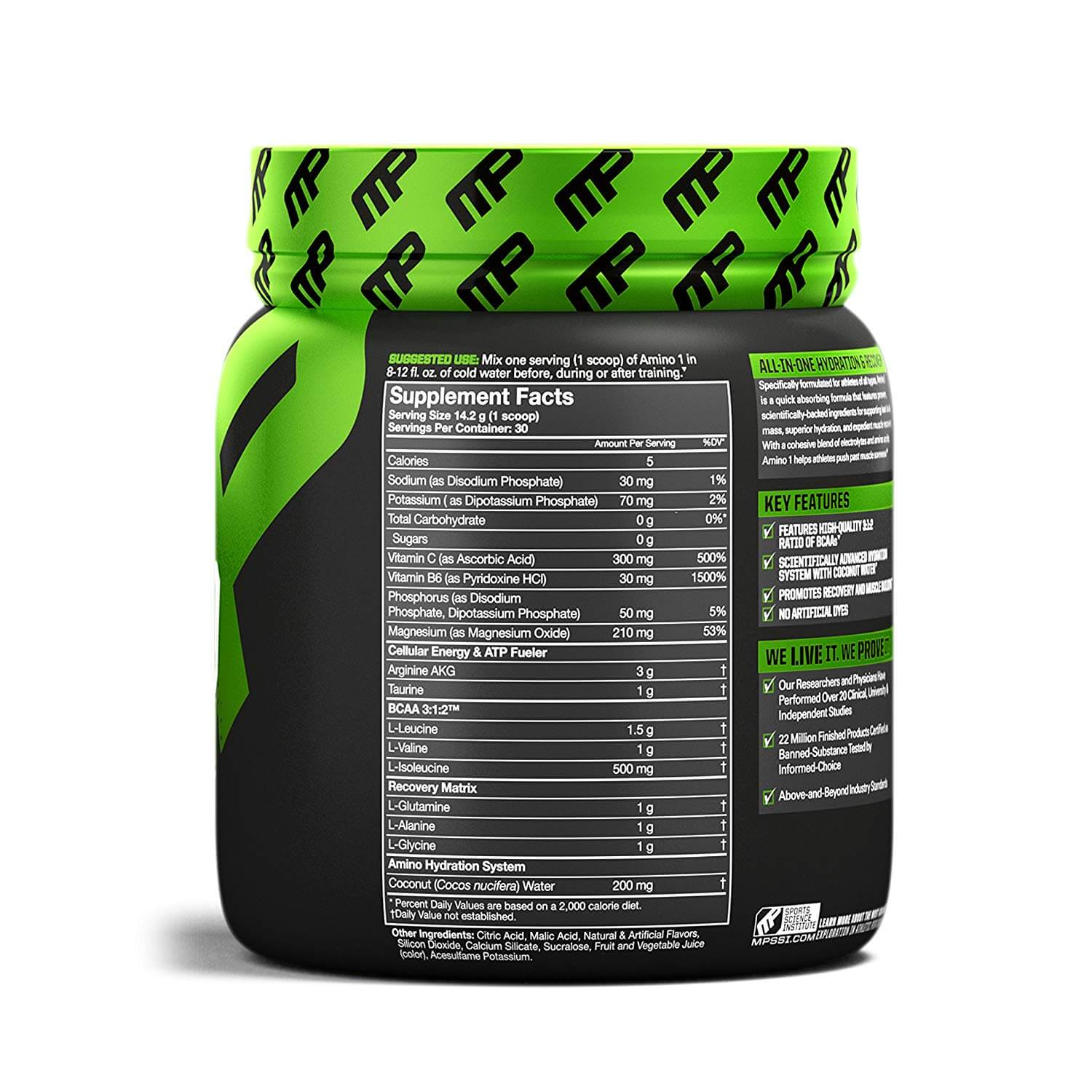 Amino1 Sup Facts