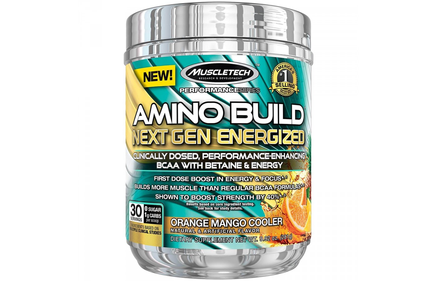 MuscleTech Orange Mango