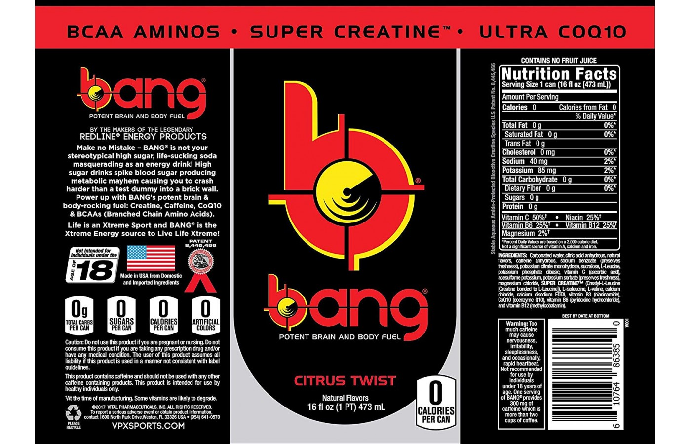 Bang Full Label
