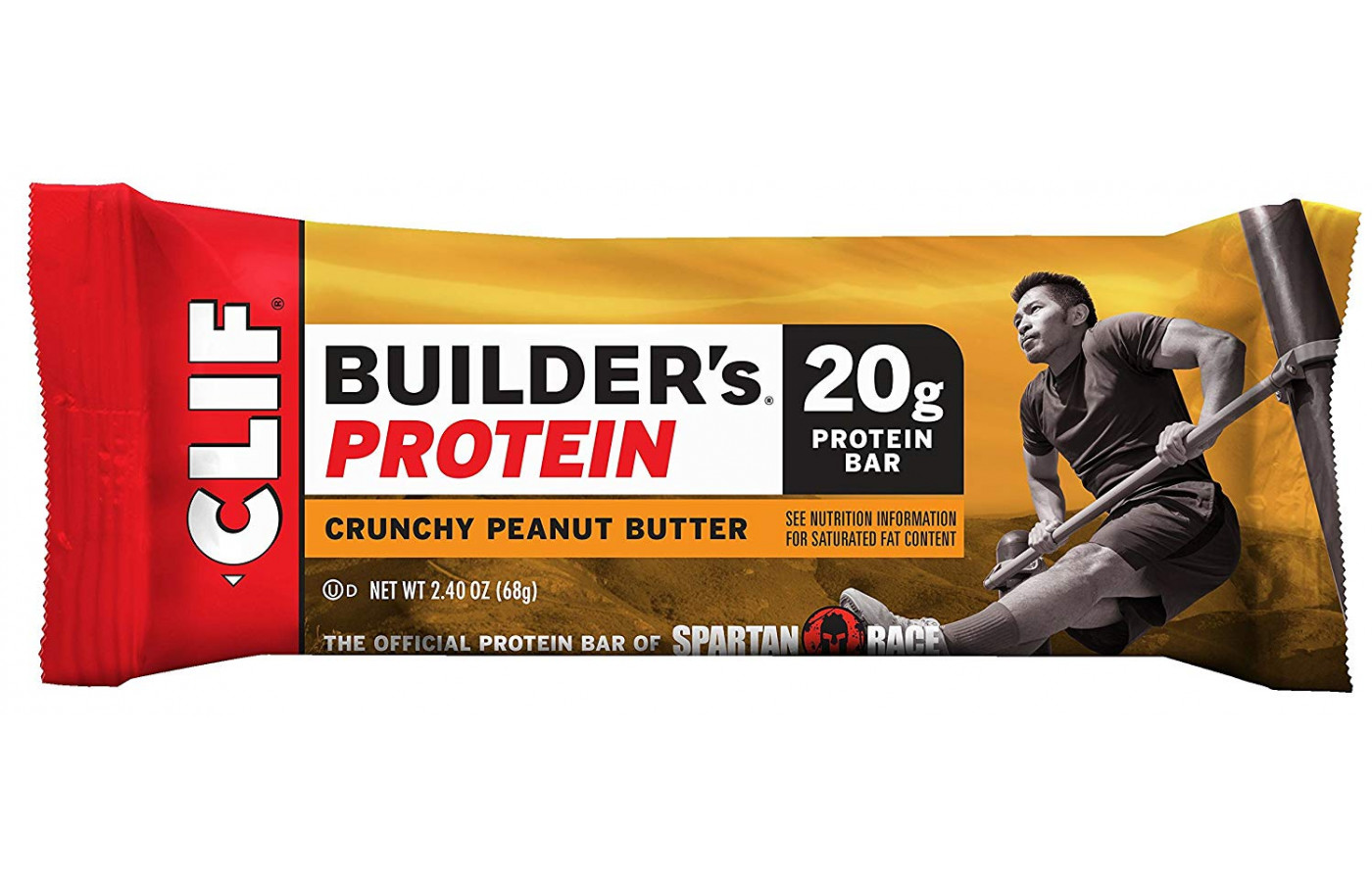 Clif Builder's Protein Single