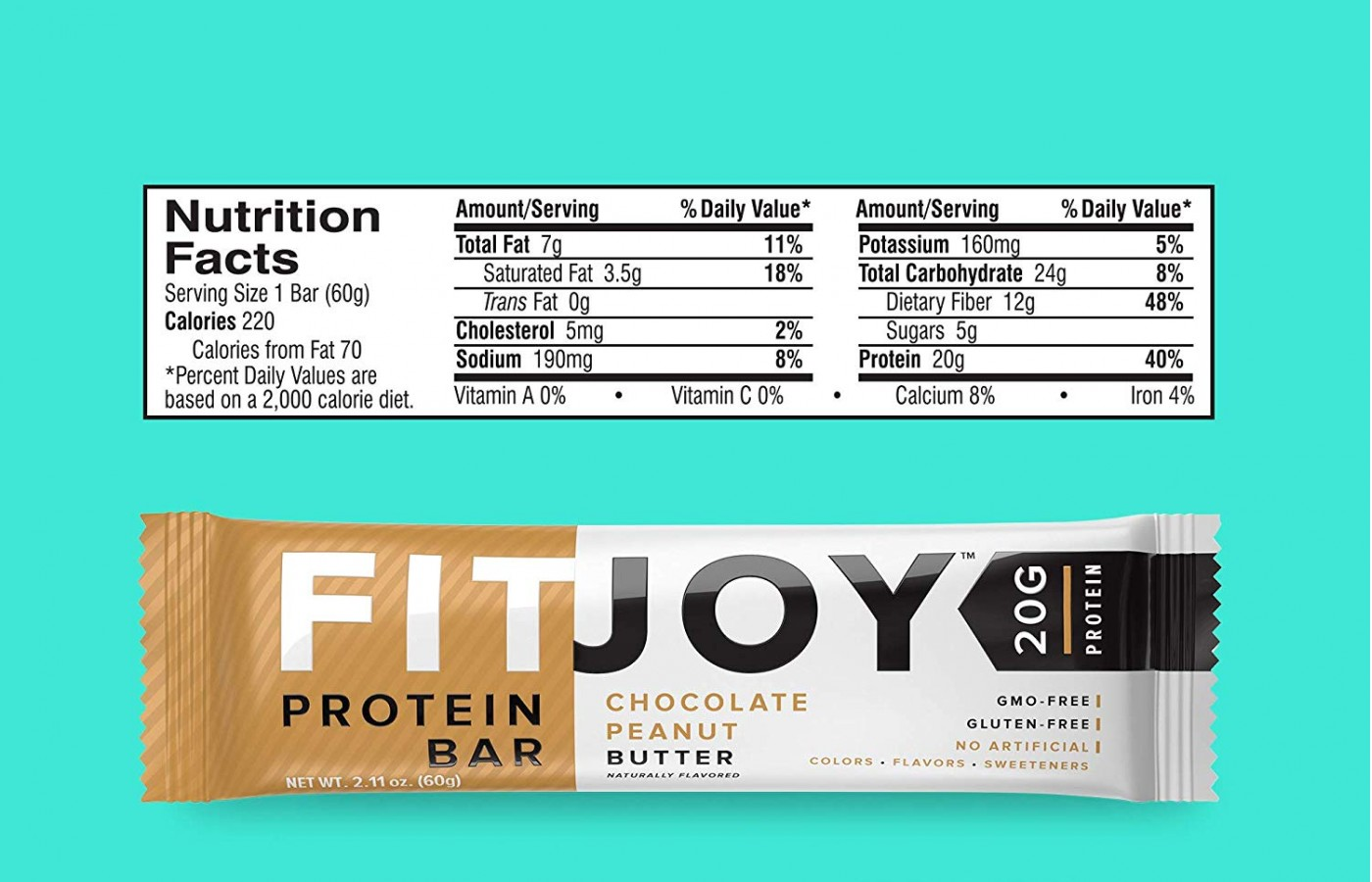 FitJoy Nutrition Facts