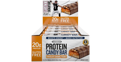 An In Depth Review of MuscleTech Gronk Protein Candy Bar in 2018