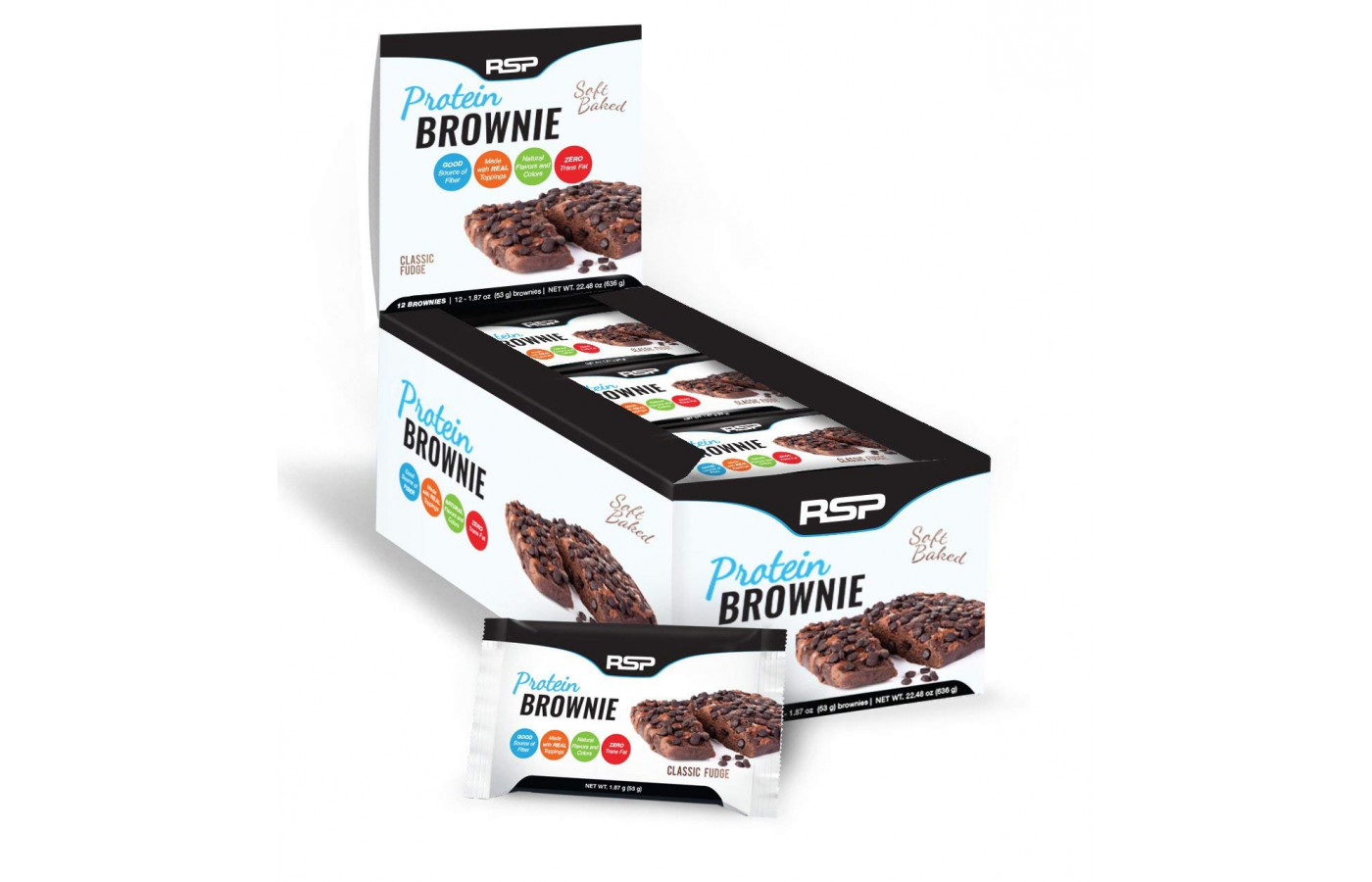 RSP Protein Brownie Box
