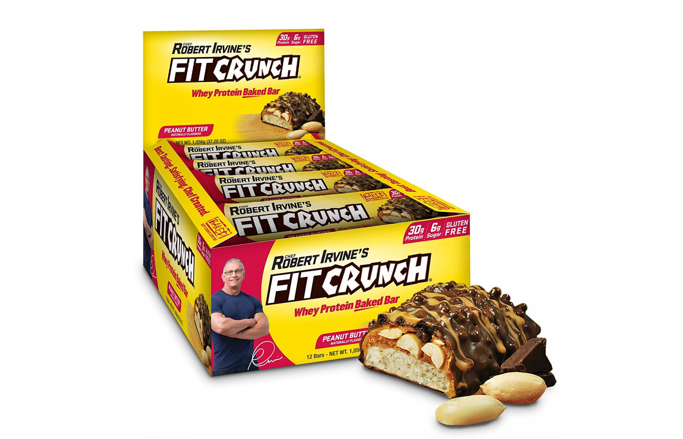 Robert Irvine's FIT Crunch Bar Reviewed in 2019 | FightingReport