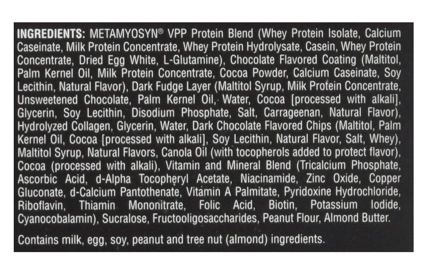 metrx ingredients