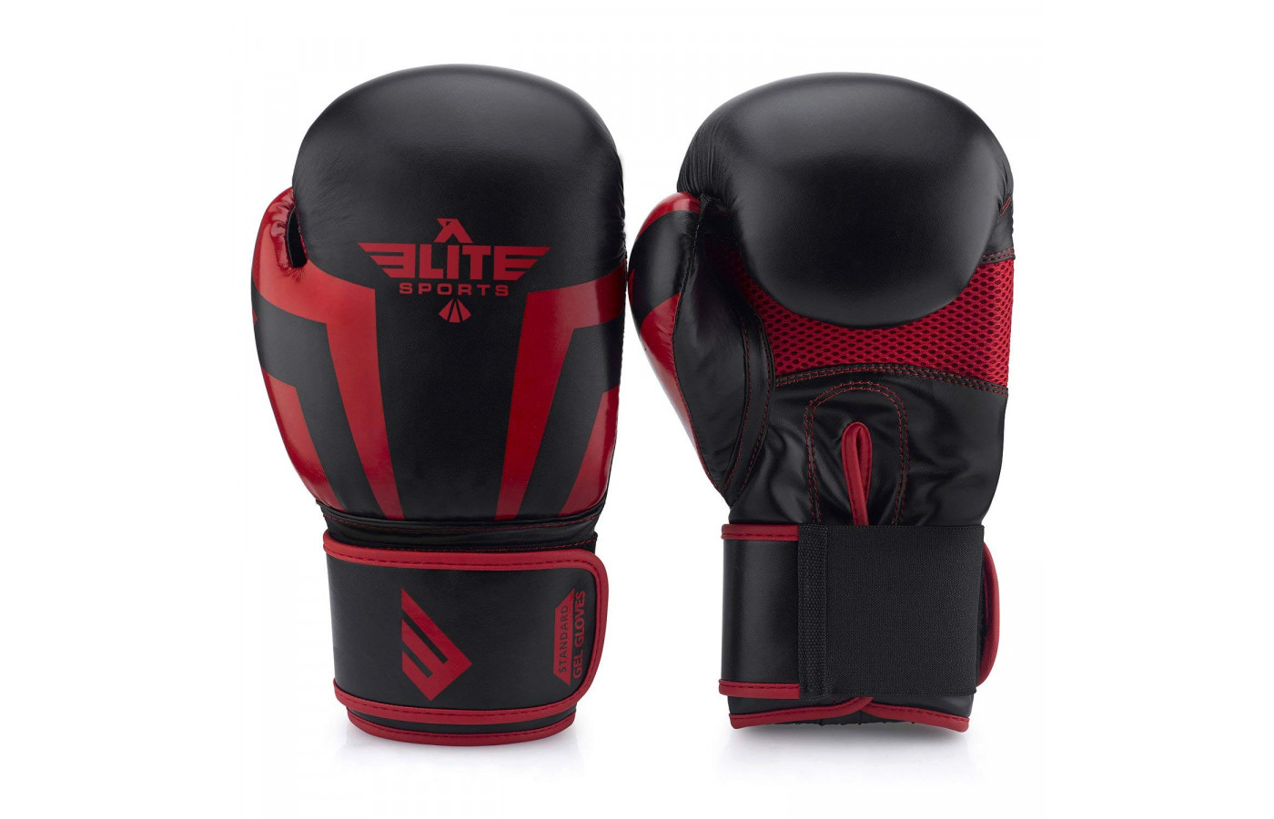 Elite Gel Black and Red