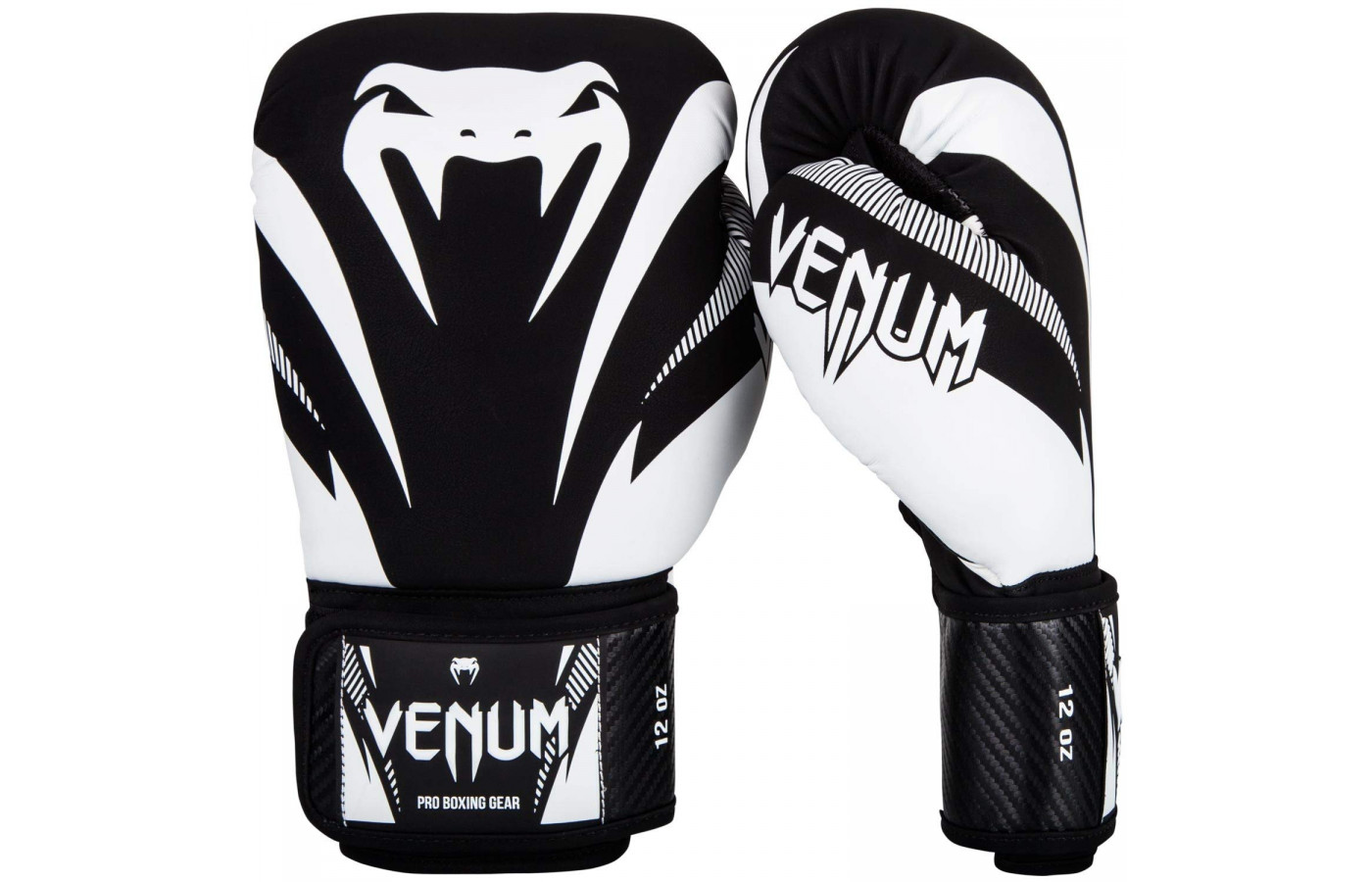 Venum Impact Black and White