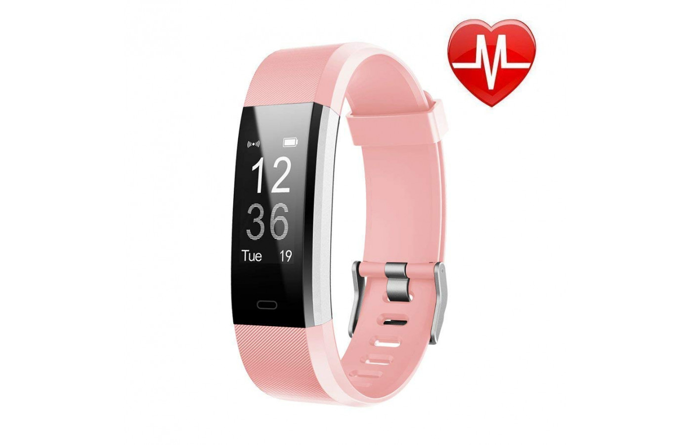 LETSCOM Fitness Tracker Pink