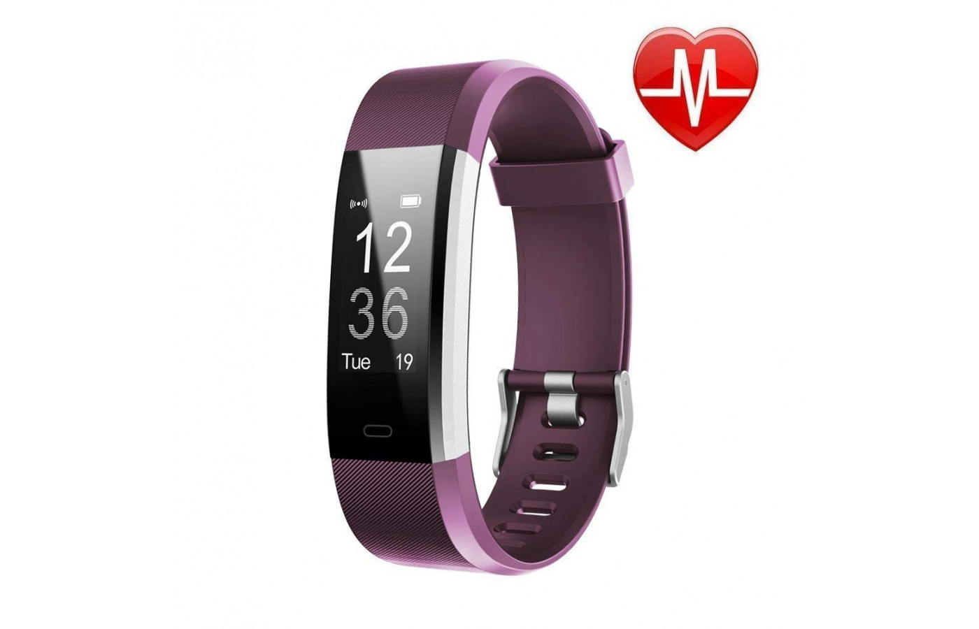 LETSCOM fitness tracker Purple