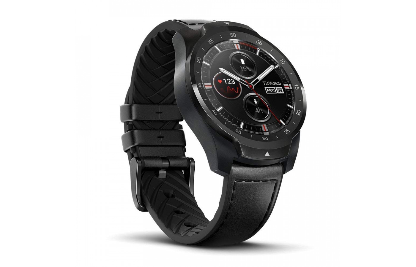 TicWatch Pro Angle All Black