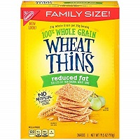 Wheat Thins Reduced Fat