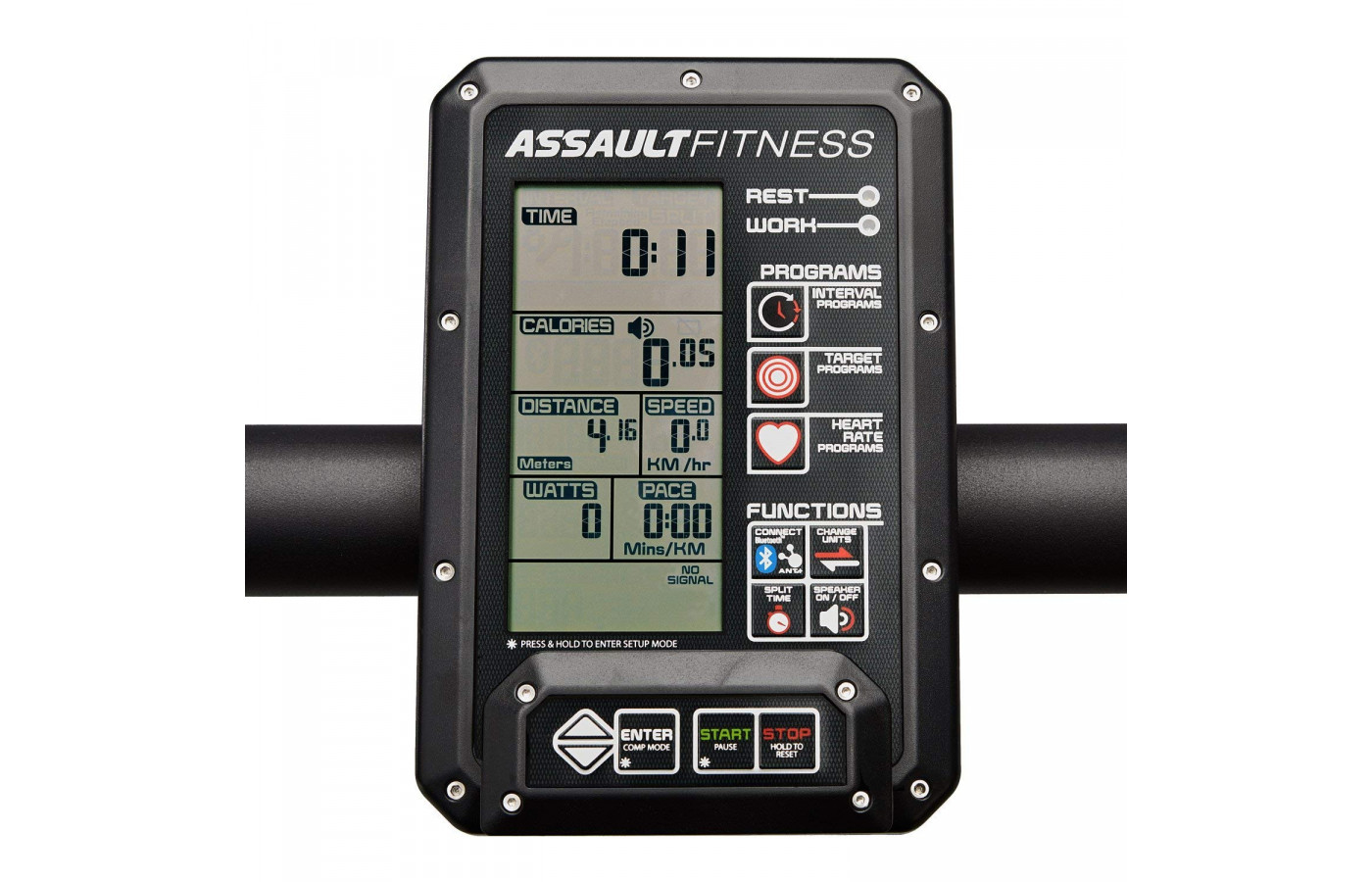 assault fitness console