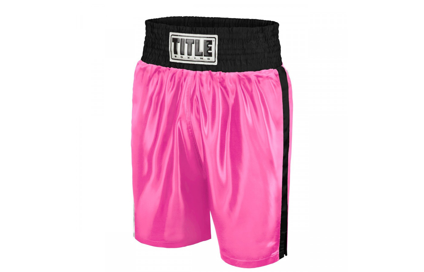 Title trunks pink and black