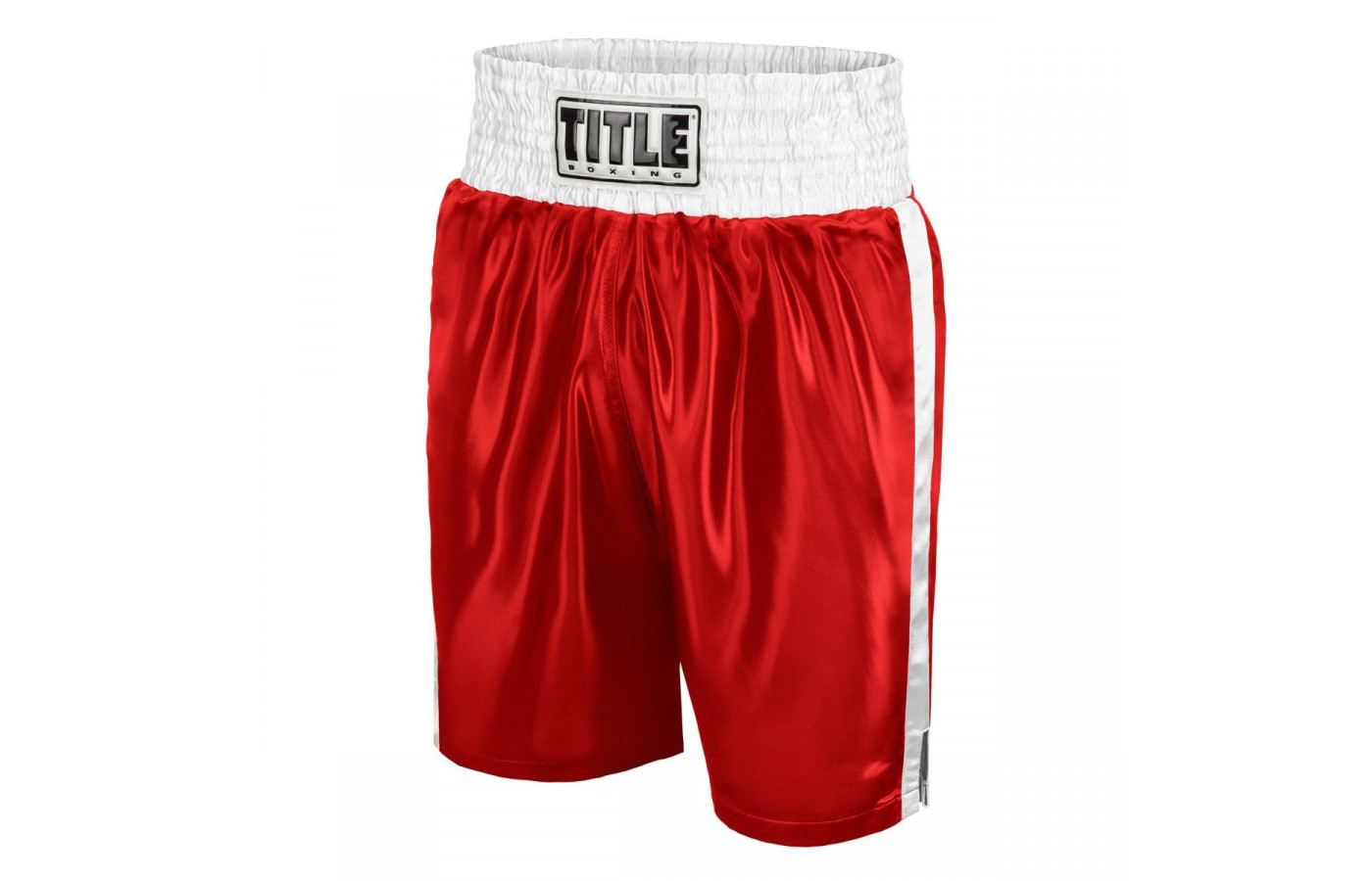 Title trunks red and white