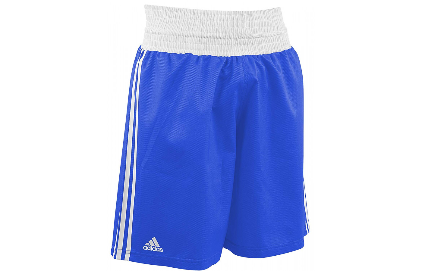adidas boxing trunks blue and white