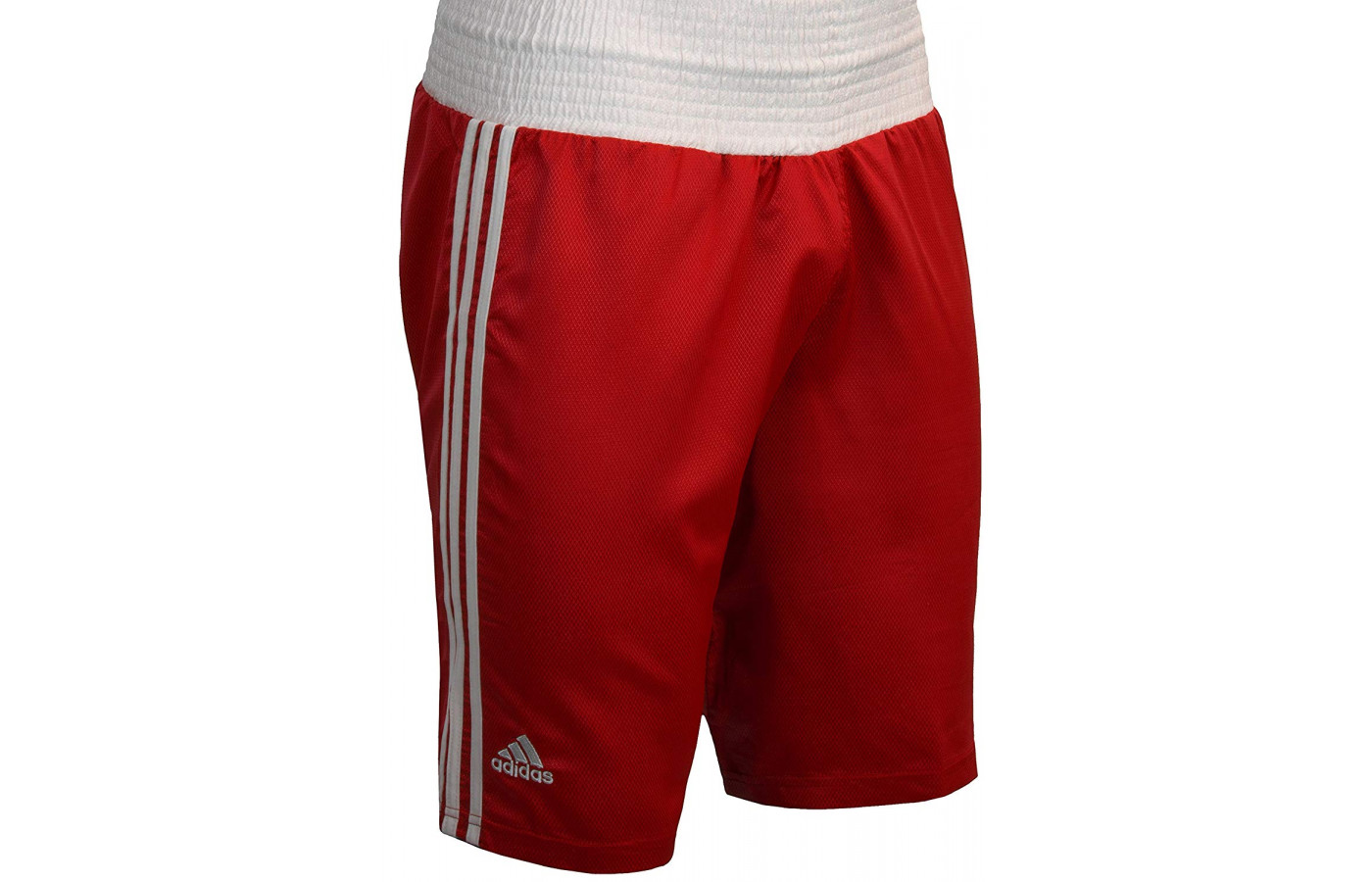 adidas boxing trunks red and white
