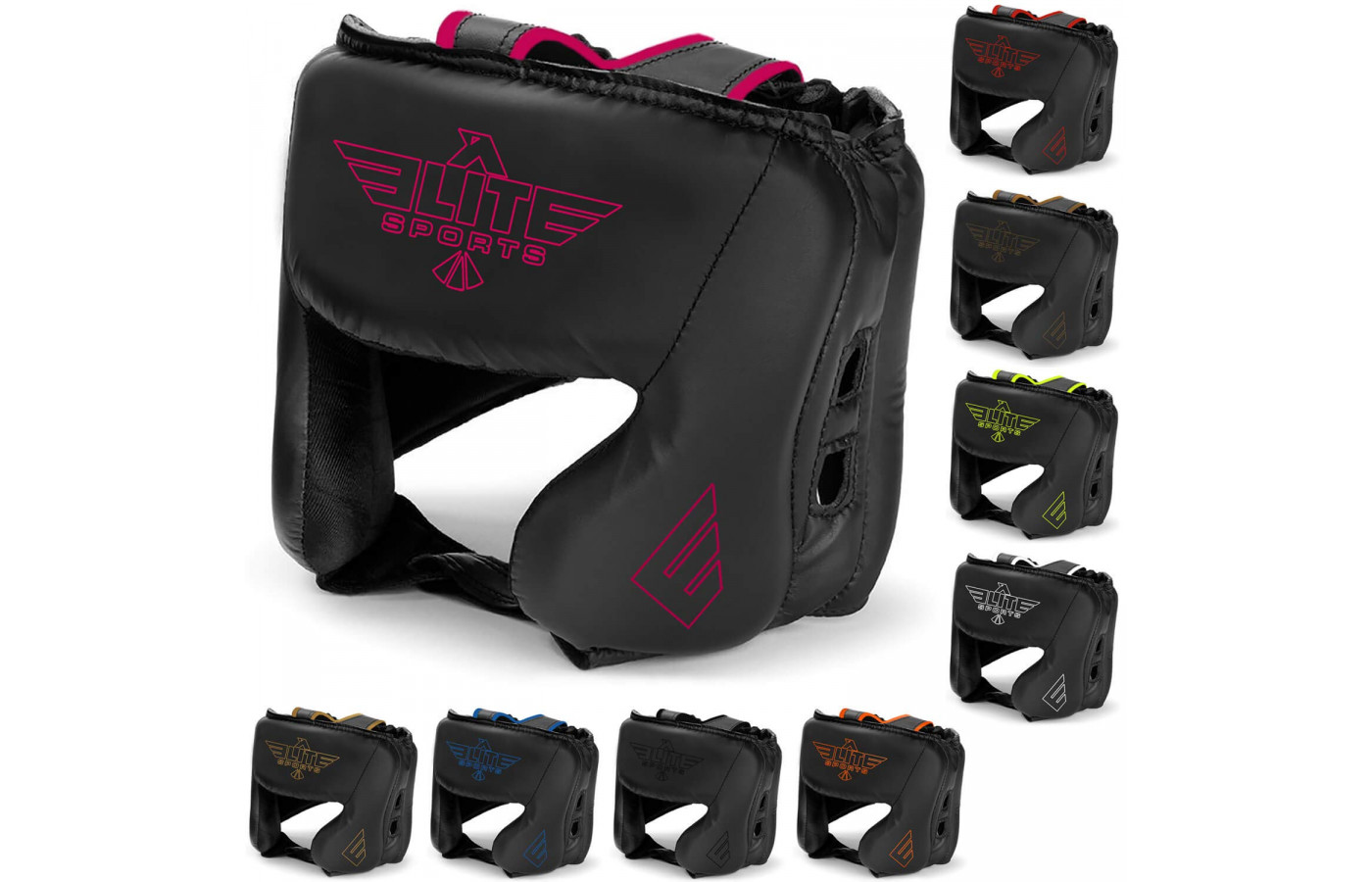 elite sports head guard all colors