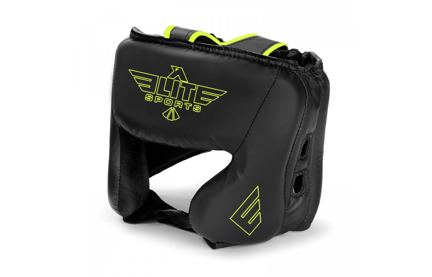 elite sports head guard yellow