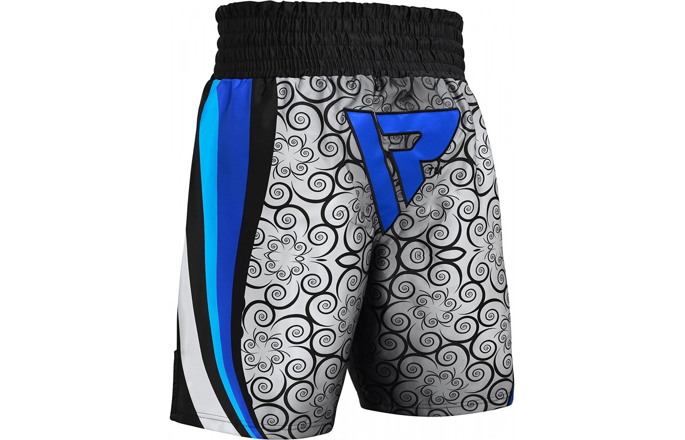 rdx fight shorts blue back