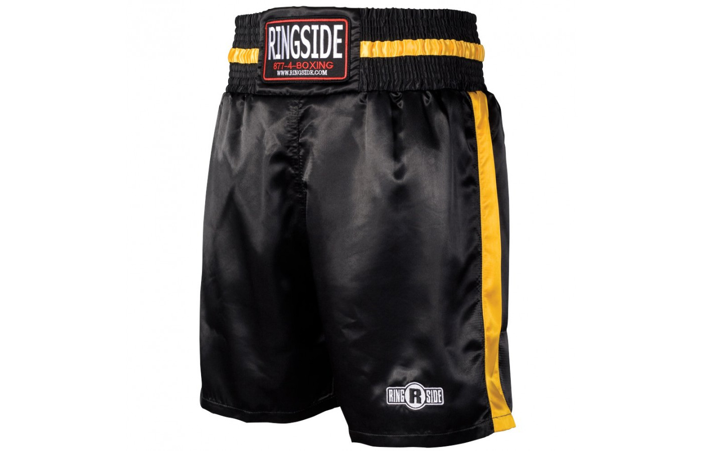 ringside trunks black and gold