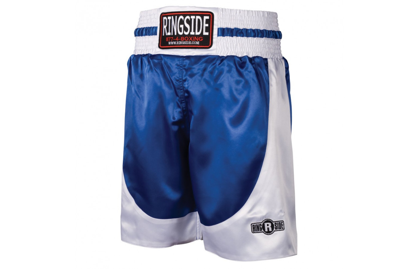 ringside trunks blue and white