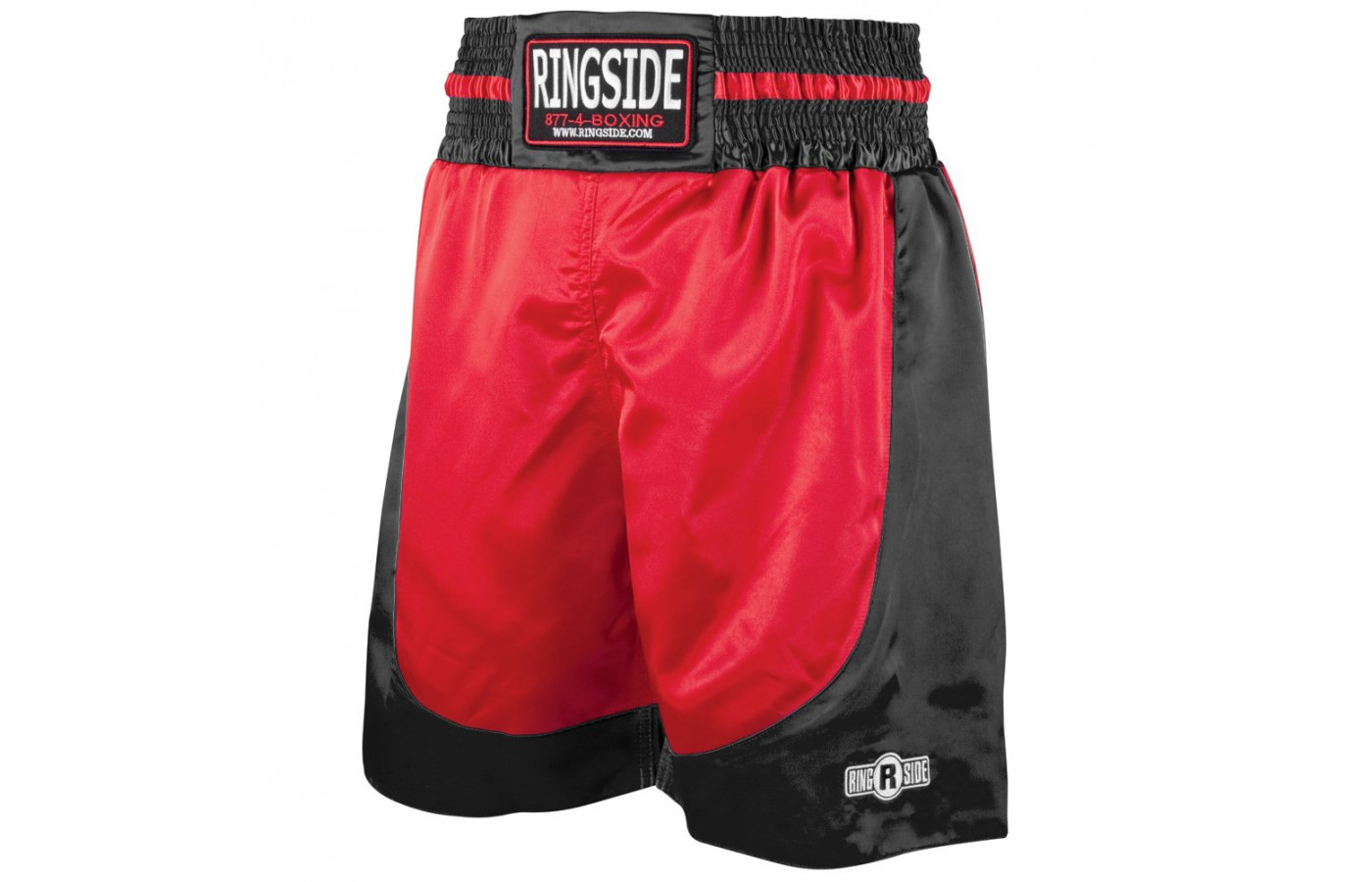 ringside trunks red and black