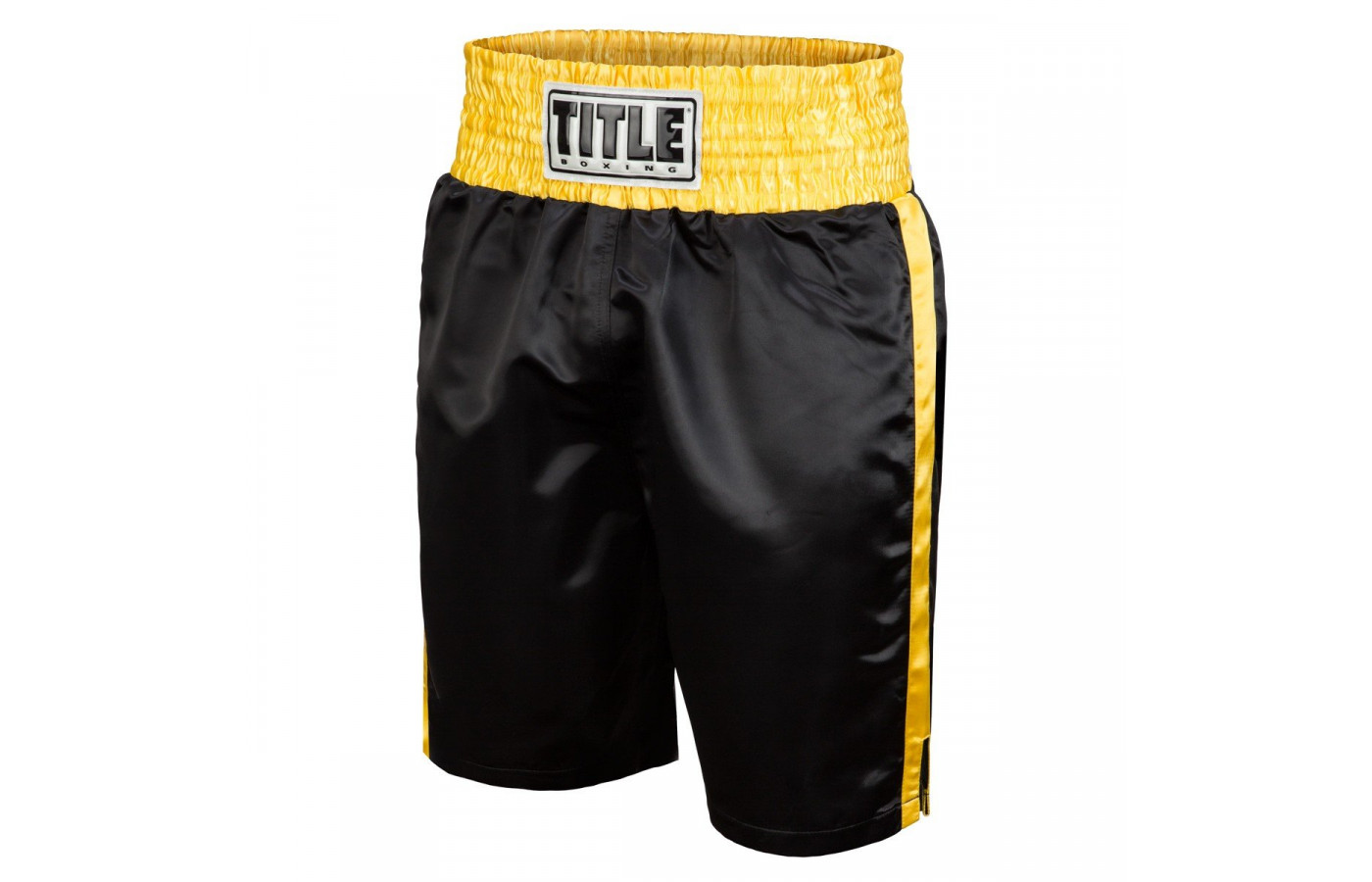 title trunks black and gold