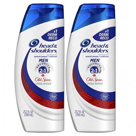 Head and Shoulders + Old Spice