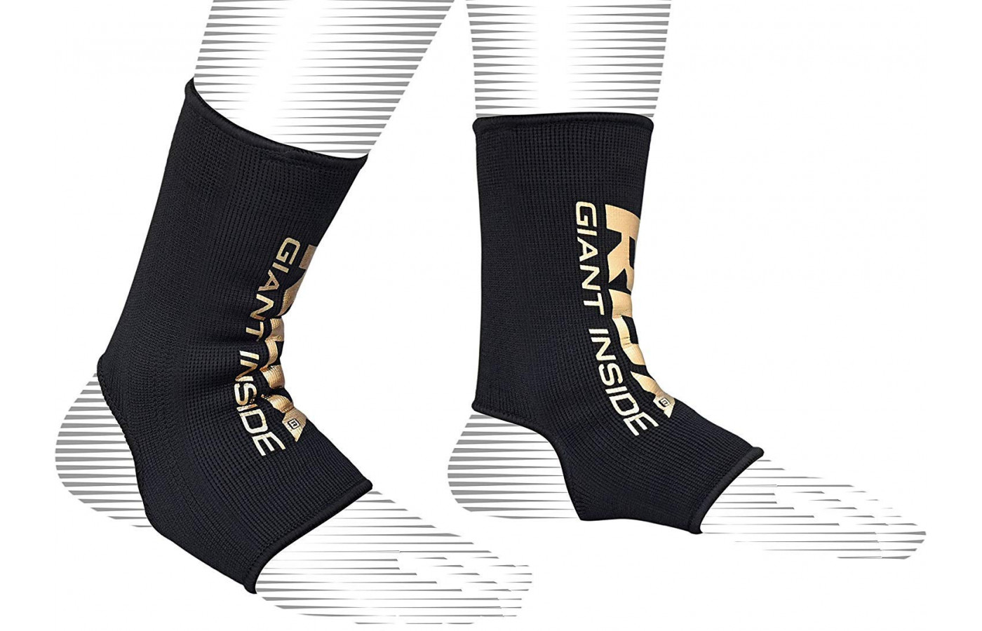 RDX AB andkle sleeve pair gold