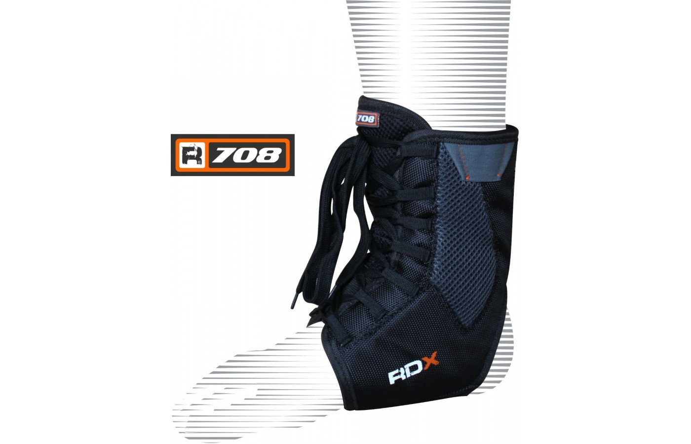 RDX boxing ankle support side