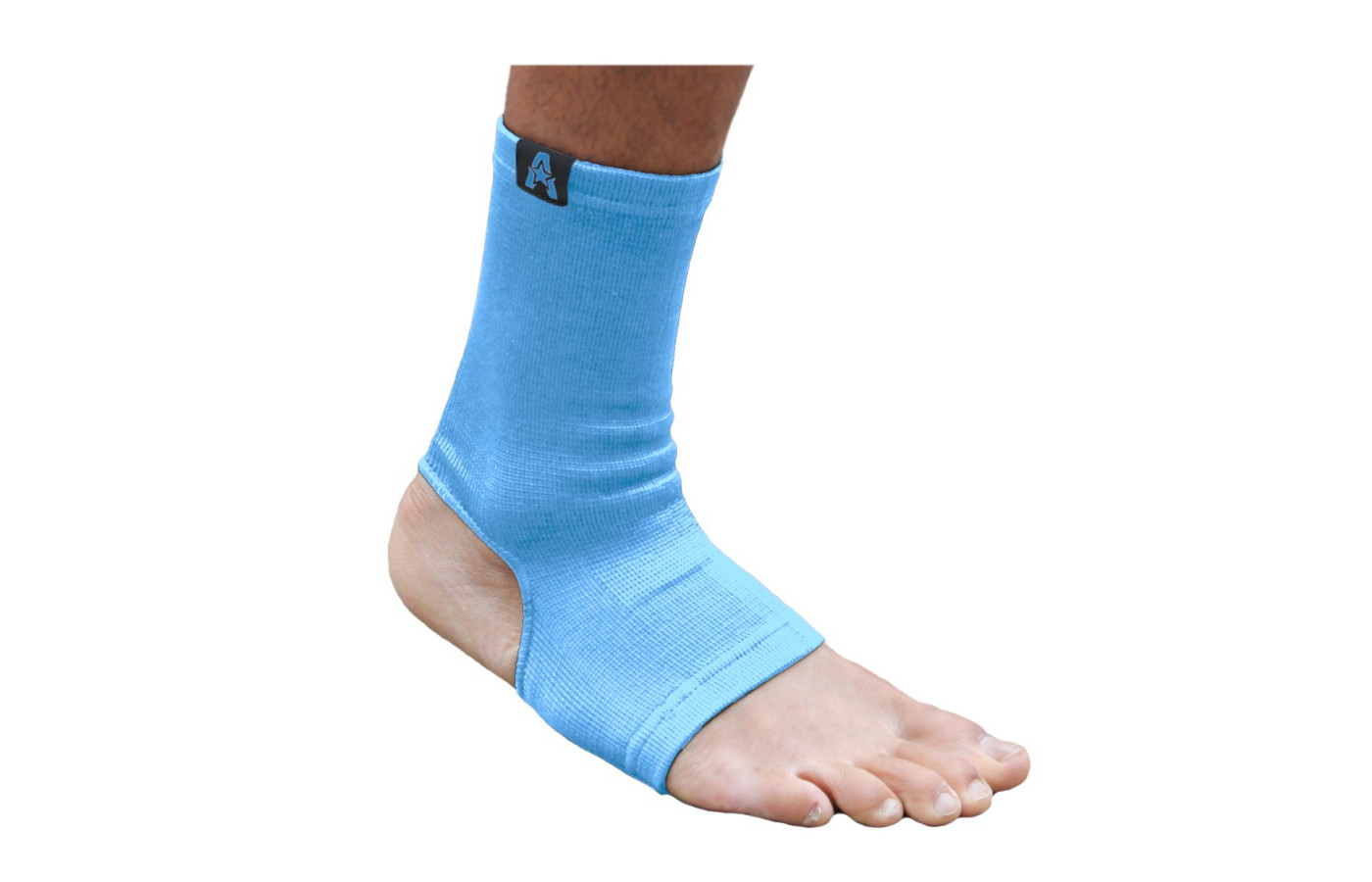 anthem athletics ankle support light blue