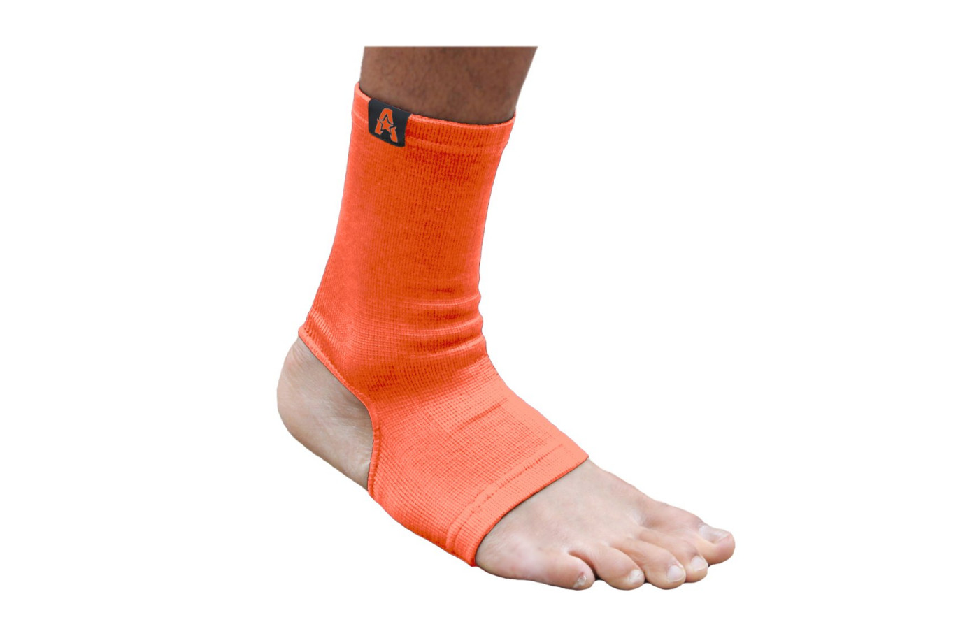 anthem athletics ankle support orange