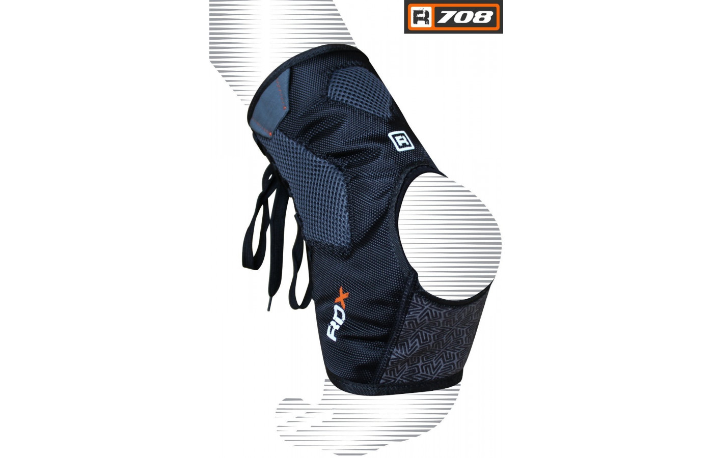 rdx boxing ankle support back