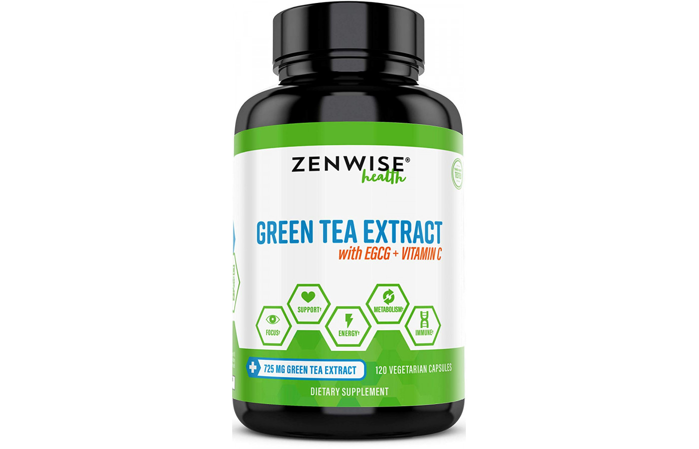 zenwise green tea extract front