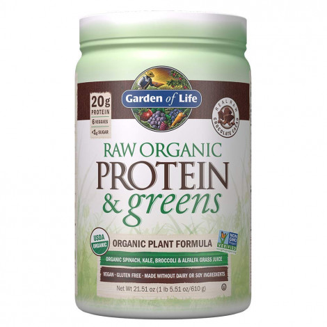 Raw Organic Protein and Greens