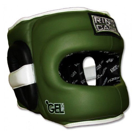 Ring to Cage Deluxe Full Face GelTech Sparring Headgear for Boxing, Muay Thai, MMA, Kickboxing