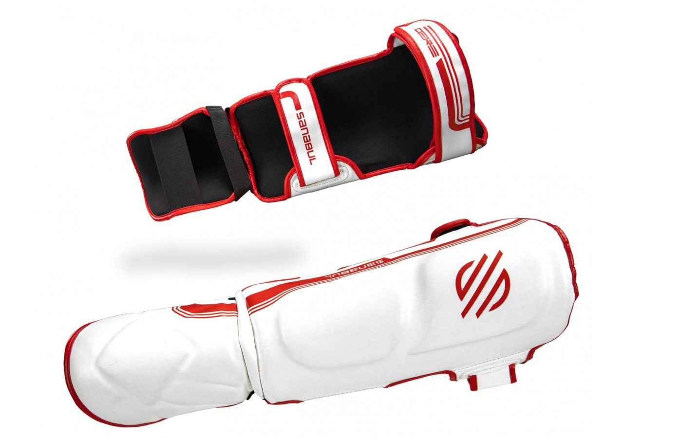 sanabul core advanced red white front back