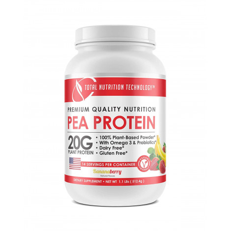 Total Nutrition Technology Vegan Plant Based Pea Protein Powder