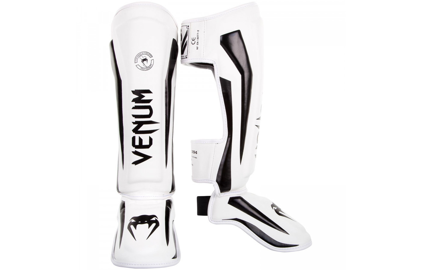 venum elite guards black and white