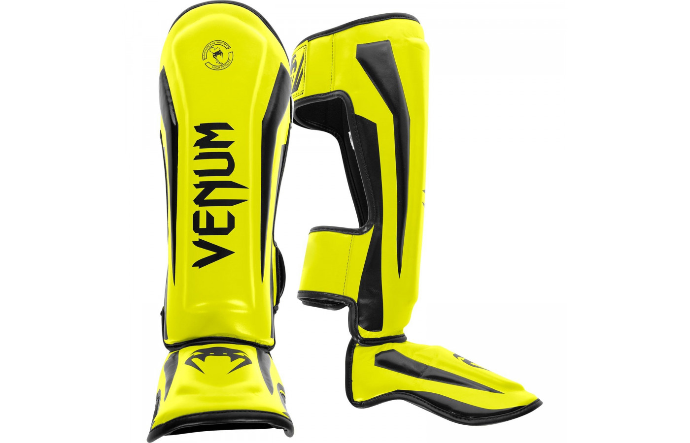 venum elite guards yellow front