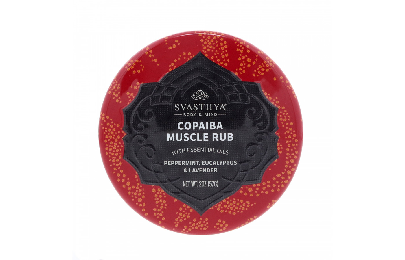 Svasthya Copaiba Muscle Rub closed