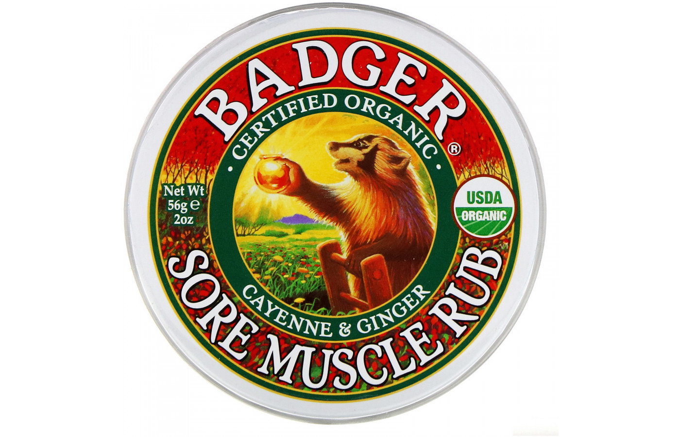 badger cayenne and ginger 2 ounce