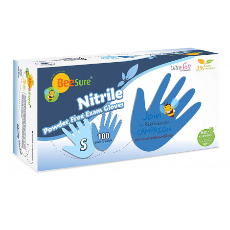 BeeSure Latex free disposable gloves