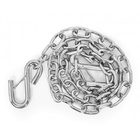 """Camco Heavy Duty Steel 48"""" Safety Chains with Spring Hooks"""