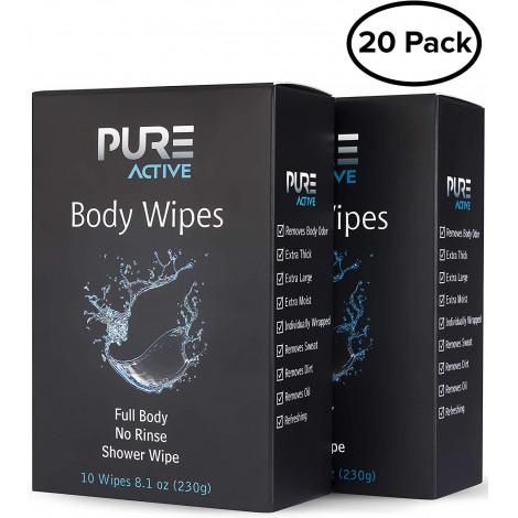 Pure Active Large Wet Wipes